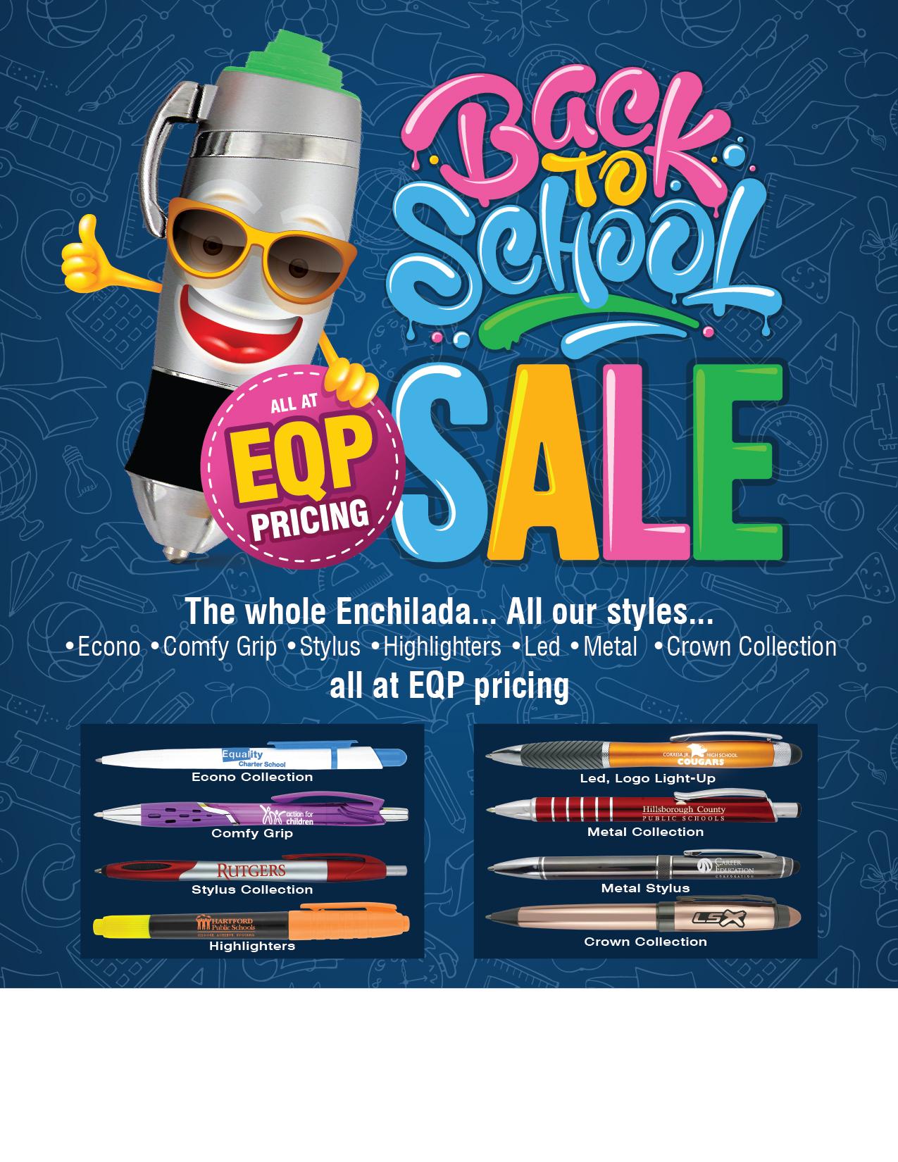 Unbranded Pensline EQP promo pen special