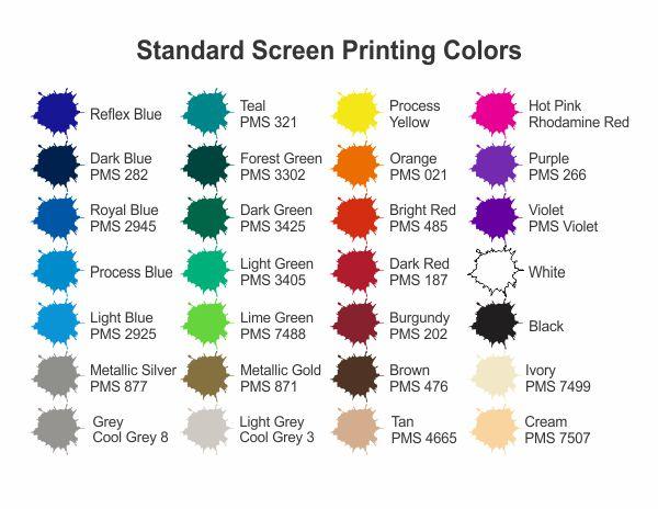 Printing Colors